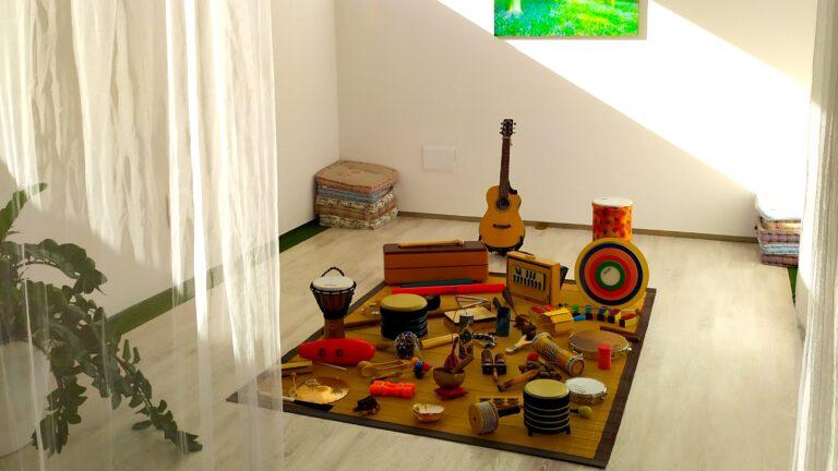 sesiones musicoterapia Centro Nacer Vuela Música Murcia